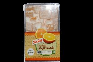 Λουκούμια με γεύση Πορτοκάλι