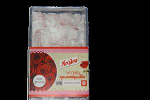 Λουκούμια με γεύση Τριαντάφυλλο